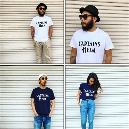CAPTAINS HELM/キャプテンズヘルム USA MADE LOGO TEE/ロゴTシャツ・3color