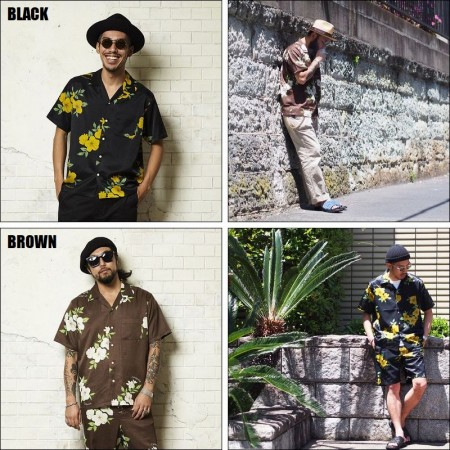 CAPTAINS HELM/キャプテンズヘルム CALIFORNIA ALOHA SS SHIRTS/アロハシャツ・2color