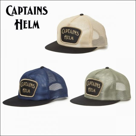 debb476e9f5 CAPTAINS HELM キャプテンズ・ヘルム 2017 SS  ALL MESH CAP オールメッシュキャップ・3color