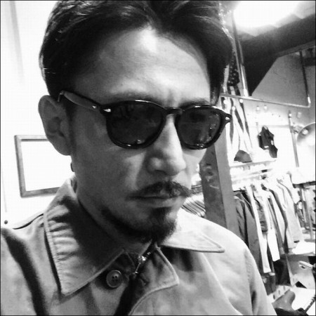 "THE HIGHEST END×UNCROWD/ザ・ハイエストエンド×アンクラウド ""Carving""Gray-Tortoise frame/調光レンズ"