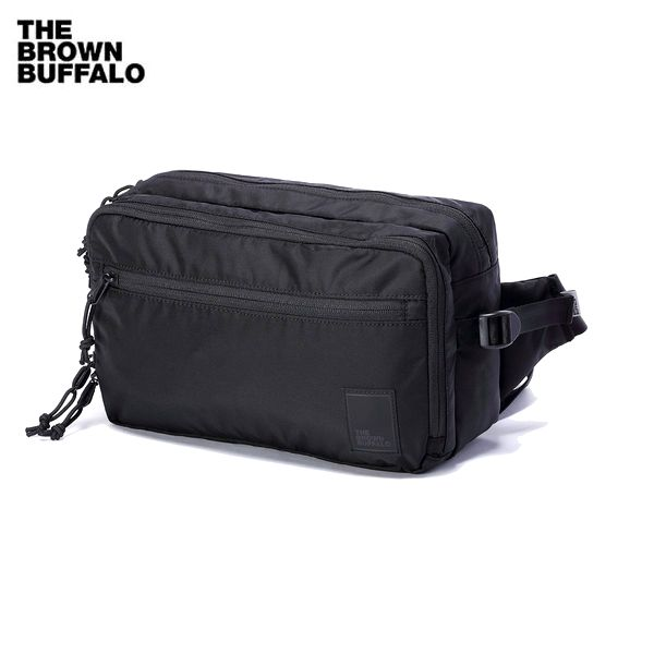THE BROWN BUFFALO/ザ・ブラウンバッファロー CONCEALSLING/ボディバッグ・BLACK