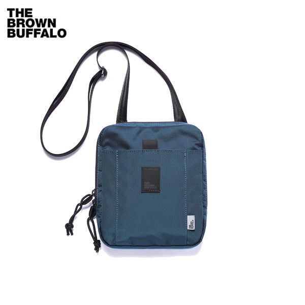 THE BROWN BUFFALO/ザ・ブラウンバッファロー SPECIAL DELIVERY/ショルダーポーチ・NAVY