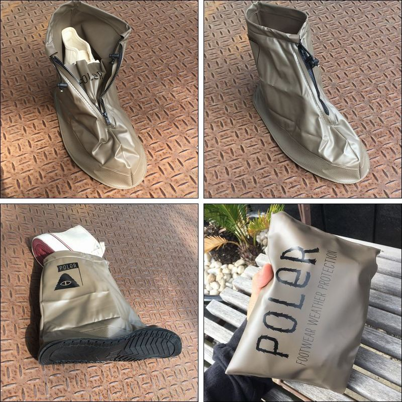 POLER/ポーラー SUMMIT SHOES RAINCOVER/シューズレインカバー・OLIVE