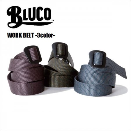 BLUCO WORK GARMENT/ブルコ WORK BELT/ワークベルト・3color