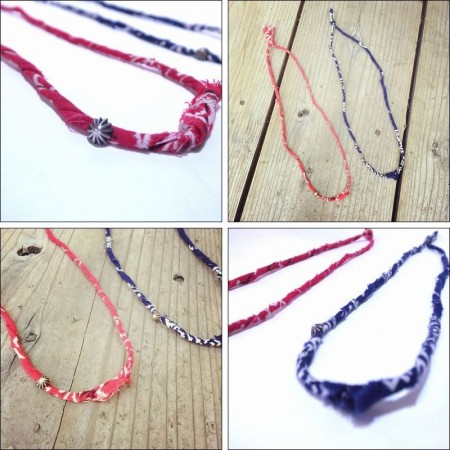 THE HIGHEST END/ザ・ハイエストエンド Bandana Necklace/バンダナネックレス・2color