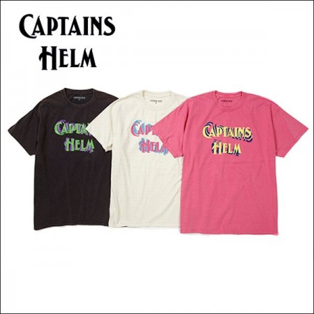CAPTAINS HELM/キャプテンズヘルム #80'S LOGO PRINT TEE/Tシャツ・3color