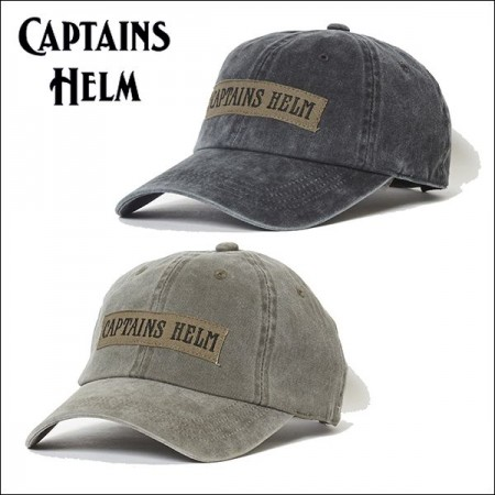 CAPTAINS HELM/キャプテンズヘルム #MILITARY CAP/ミリタリーキャップ・2color