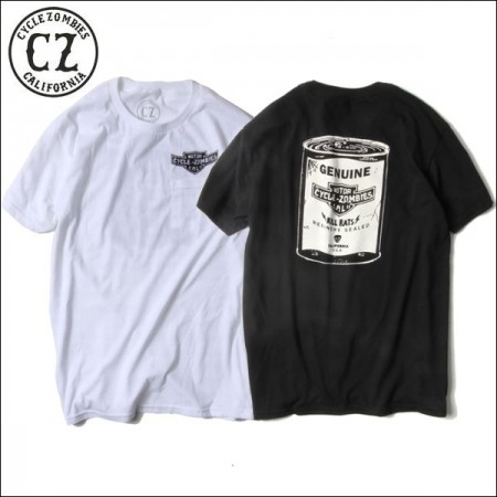 CycleZombies/サイクルゾンビーズ RAT KILLER SS Pocket T-SHIRT/Tシャツ・2color