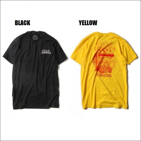CycleZombies/サイクルゾンビーズ CAMP OUT SS T-SHIRT/Tシャツ・2color