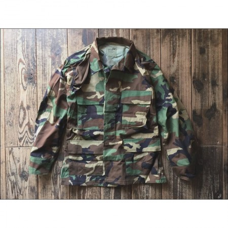 US Military Dead Stock「G.I Woodland Shirts」/アメリカ軍デッドストックミリタリーシャツ