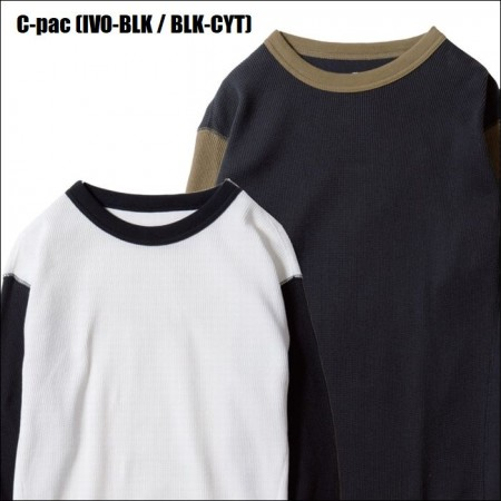 BLUCO WORK GARMENT・ブルコ 2PAC THERMAL SHIRTS -Set-in-・サーマルシャツ・3color