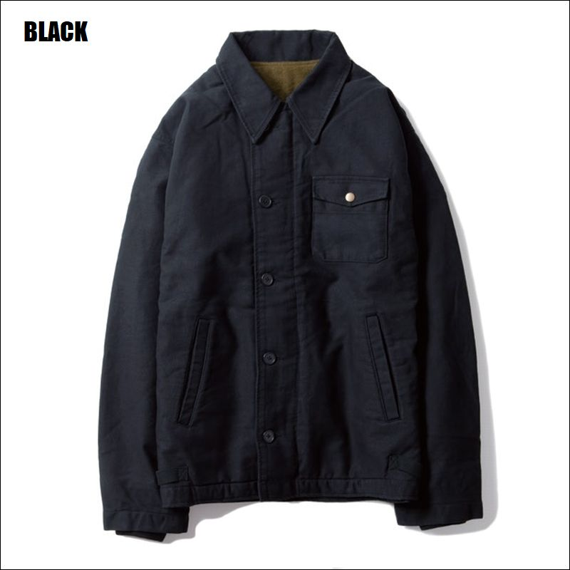 UNCROWD/アンクラウド 1964 A-2 DECK JACKET/デッキジャケット・2color