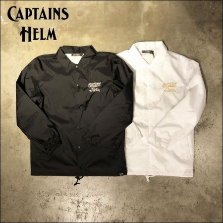 CAPTAINS HELM/キャプテンズヘルム #WING LOGO COACH JACKET/コーチジャケット・2color