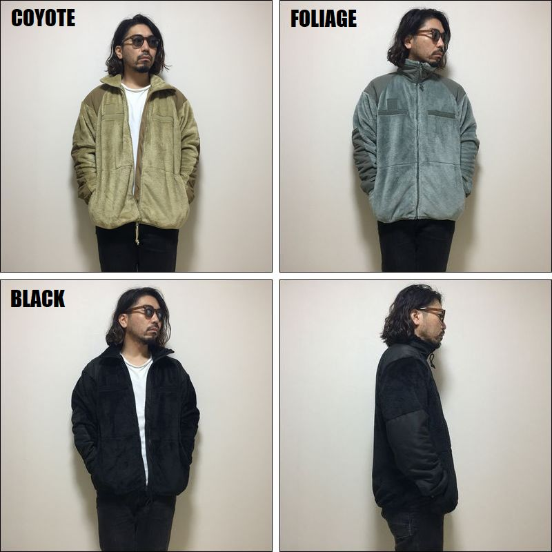 US MILITARY / ECWCS GEN III FLEECE JACKET/フリースジャケット・3color