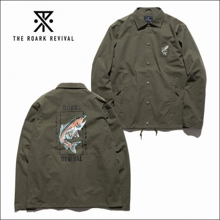 "THE ROARK REVIVAL/ロアーク リバイバル ""TRIPPIN&SIPPIN"" COACHES JACKET/コーチジャケット・KHAKI"