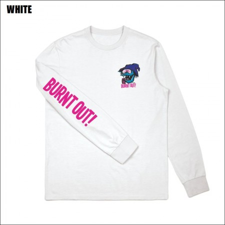 BRIXTON×FARTCO/ブリクストン BURNT OUT LS STANDARD TEE/ロングスリーブTシャツ・2color