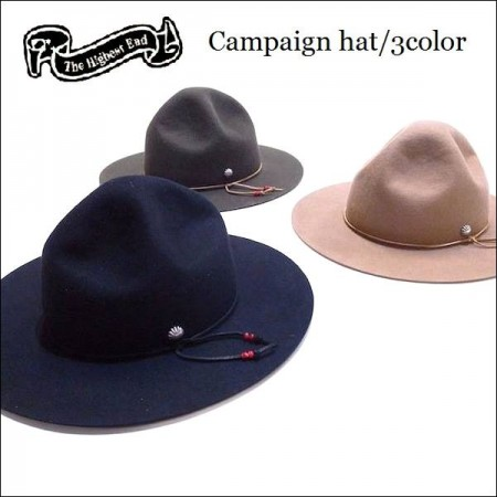 THE HIGHEST END/ザ・ハイエストエンド 2016' Campaign hat/キャンペーンハット・3color
